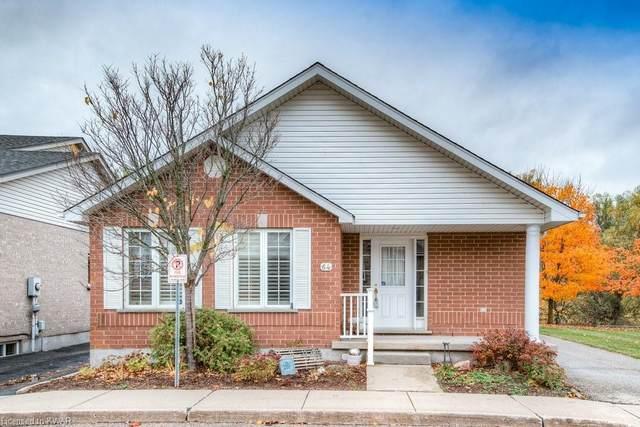461 Columbia Street W #64, Waterloo, ON N2T 2P5 (MLS #40036948) :: Sutton Group Envelope Real Estate Brokerage Inc.