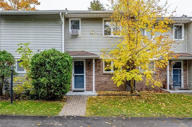 39 28TH Street S #24, Wasaga Beach, ON L9Z 2E4 (MLS #40036998) :: Forest Hill Real Estate Collingwood