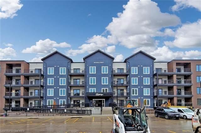 20 Koda Street #206, Barrie, ON L9J 0J7 (MLS #40037776) :: Sutton Group Envelope Real Estate Brokerage Inc.