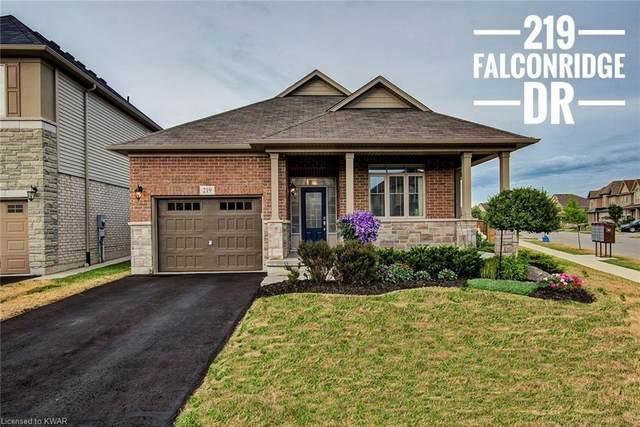 219 Falconridge Drive, Kitchener, ON N2K 0B6 (MLS #40038227) :: Sutton Group Envelope Real Estate Brokerage Inc.