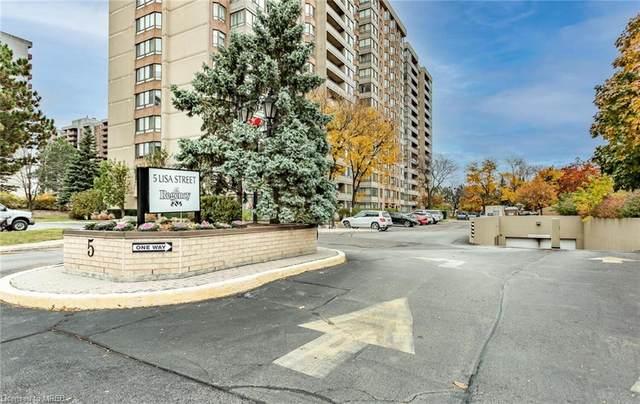 5 Lisa Street #1104, Brampton, ON L6T 4T4 (MLS #40043250) :: Sutton Group Envelope Real Estate Brokerage Inc.
