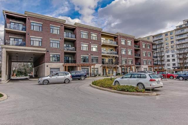 89 Ridout Street S #206, London, ON N6C 3X2 (MLS #40044988) :: Sutton Group Envelope Real Estate Brokerage Inc.