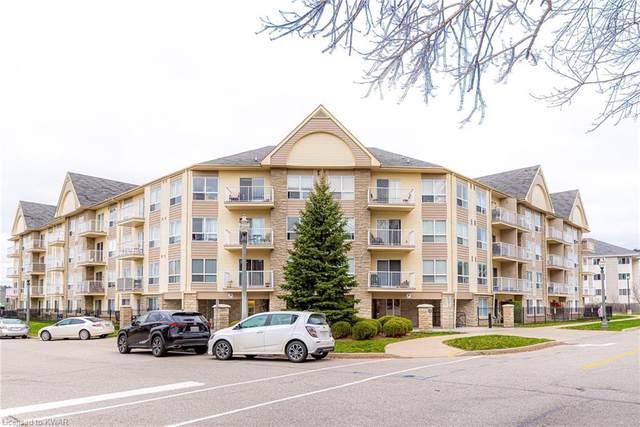 8 Harris Street #319, Cambridge, ON N1R 8R1 (MLS #40046774) :: Sutton Group Envelope Real Estate Brokerage Inc.