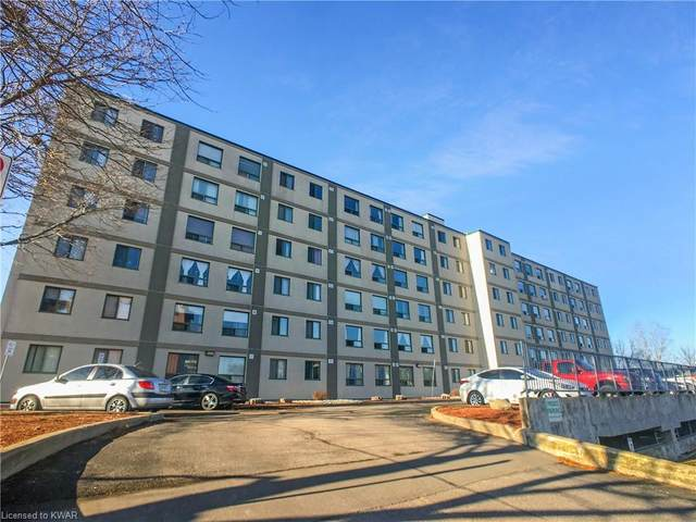18 Holborn Court #203, Kitchener, ON N2A 4A1 (MLS #40047751) :: Sutton Group Envelope Real Estate Brokerage Inc.