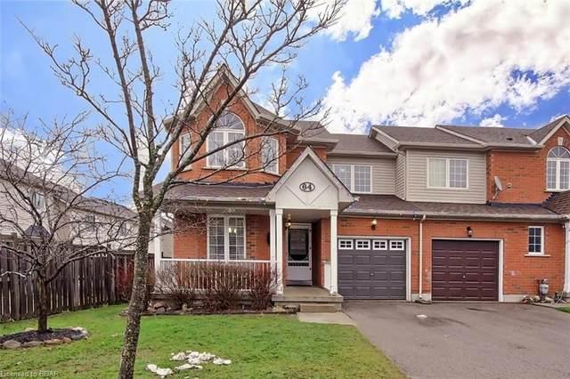 64 Trevino Circle, Barrie, ON L4M 6T9 (MLS #40048025) :: Sutton Group Envelope Real Estate Brokerage Inc.