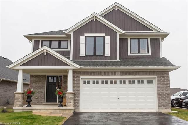 204 Peach Tree Boulevard, St. Thomas, ON N5R 0E3 (MLS #40048323) :: Sutton Group Envelope Real Estate Brokerage Inc.