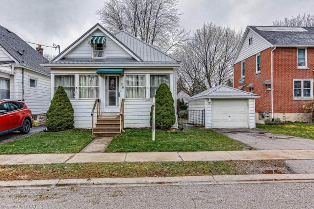 74 Maple Street, St. Thomas, ON N5R 1Z1 (MLS #40048542) :: Sutton Group Envelope Real Estate Brokerage Inc.