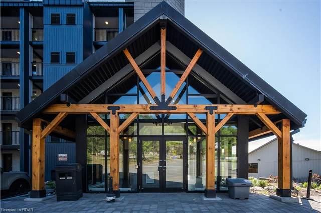 80 Horseshoe Valley Boulevard #302, Oro-Medonte, ON L4M 4Y8 (MLS #40049162) :: Sutton Group Envelope Real Estate Brokerage Inc.