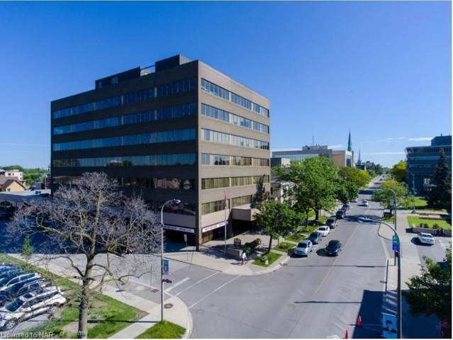 43 Church Street #608, St. Catharines, ON L2R 7E1 (MLS #40051364) :: Forest Hill Real Estate Collingwood