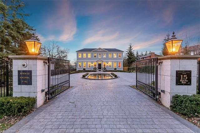 15 Belvedere Drive, Oakville, ON L6L 2B5 (MLS #40054200) :: Forest Hill Real Estate Inc Brokerage Barrie Innisfil Orillia