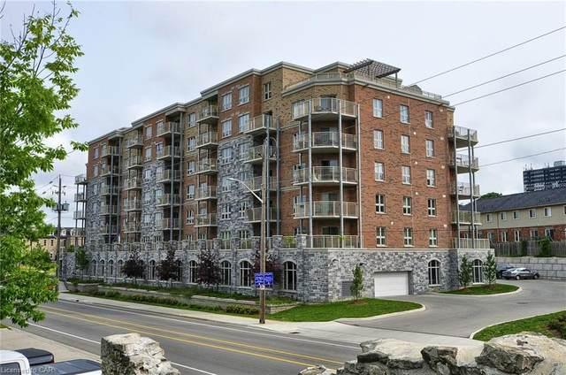 155 Water Street #208, Cambridge, ON N1R 3E3 (MLS #40055577) :: Sutton Group Envelope Real Estate Brokerage Inc.