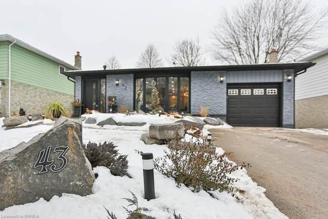 43 Hillcrest Avenue, Brantford, ON N3T 5Z2 (MLS #40056046) :: Forest Hill Real Estate Collingwood