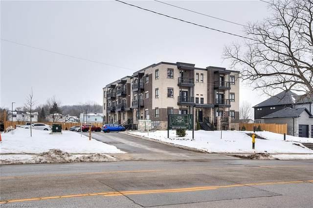 408 Guelph Avenue #202, Cambridge, ON N3C 2V3 (MLS #40057040) :: Sutton Group Envelope Real Estate Brokerage Inc.