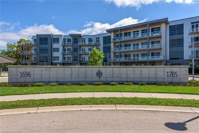 1705 Fiddlehead Place #305, London, ON N6G 0S1 (MLS #40057512) :: Sutton Group Envelope Real Estate Brokerage Inc.
