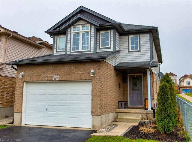 229 Mountain Laurel Crescent, Kitchener, ON N2E 4B6 (MLS #40057829) :: Forest Hill Real Estate Collingwood