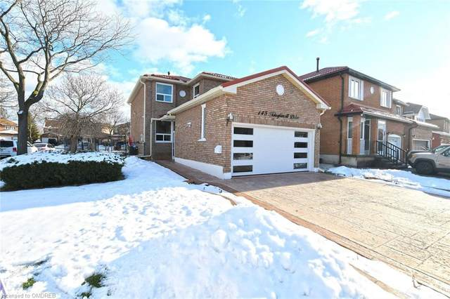 145 Kingknoll Drive, Brampton, ON L6Y 4G3 (MLS #40057945) :: Forest Hill Real Estate Collingwood