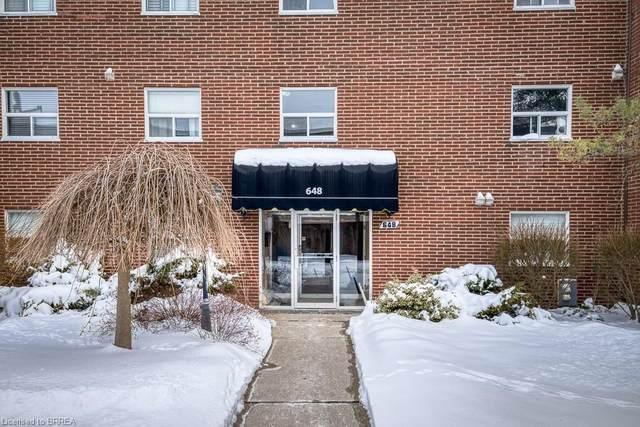 648 Grey Street #203, Brantford, ON N3S 4Y3 (MLS #40058909) :: Sutton Group Envelope Real Estate Brokerage Inc.