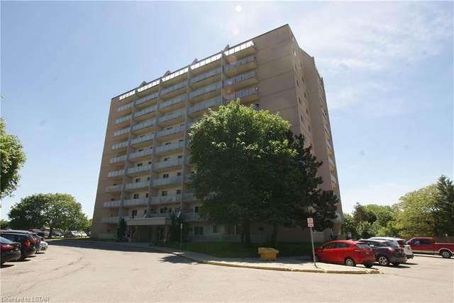 563 Mornington Avenue #708, London, ON N5Y 4T8 (MLS #40072555) :: Sutton Group Envelope Real Estate Brokerage Inc.