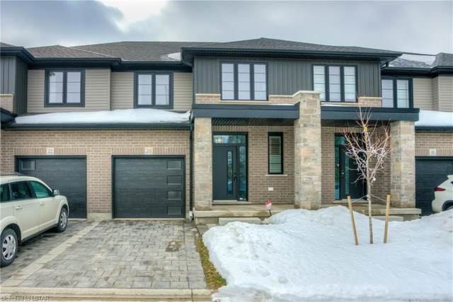 2427 Daisy Bend #20, London, ON N6M 0G9 (MLS #40073002) :: Forest Hill Real Estate Collingwood