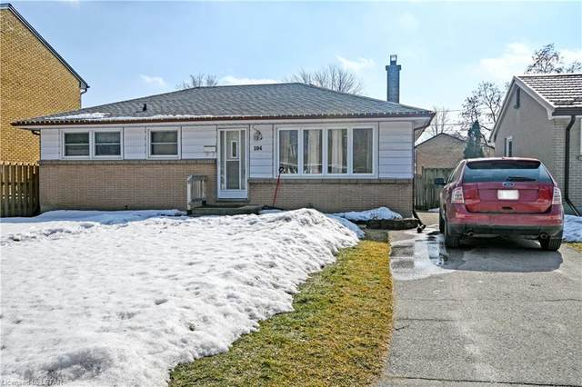 104 Queenston Crescent, London, ON N5W 1N6 (MLS #40074888) :: Forest Hill Real Estate Collingwood