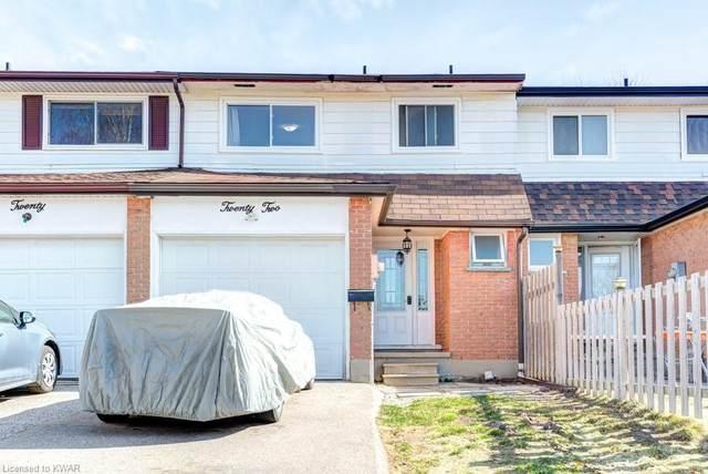 22 Obermeyer Drive, Kitchener, ON N2A 1P6 (MLS #40092632) :: Envelope Real Estate Brokerage Inc.