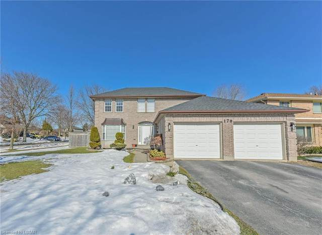170 Pine Valley Drive, London, ON N6J 4N6 (MLS #40094985) :: Envelope Real Estate Brokerage Inc.