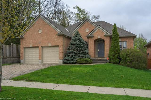 135 Plane Tree Drive, London, ON N6G 5H4 (MLS #40095655) :: Envelope Real Estate Brokerage Inc.