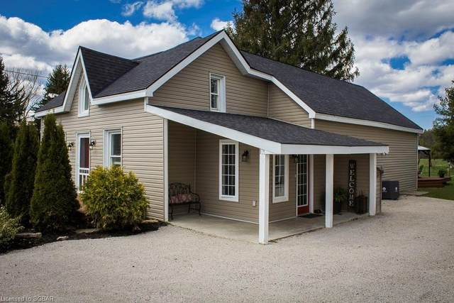 146055 12 GREY Road, Meaford Municipality, ON N4L 1W5 (MLS #40095914) :: Forest Hill Real Estate Collingwood