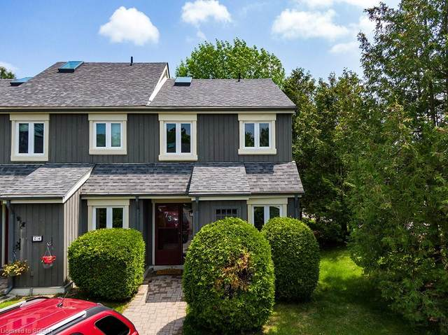 149 Fairway Crescent #73, Collingwood, ON L9Y 5B4 (MLS #40099791) :: Forest Hill Real Estate Collingwood