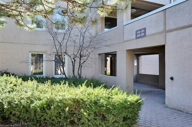 169 Jozo Weider Boulevard #119, The Blue Mountains, ON L9Y 0P7 (MLS #40099971) :: Forest Hill Real Estate Collingwood