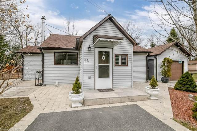 76 Forest Avenue, Wasaga Beach, ON L9Z 2K4 (MLS #40100564) :: Forest Hill Real Estate Collingwood