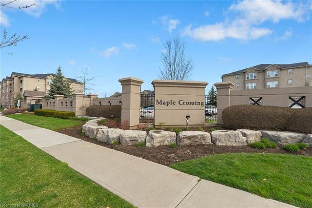 1471 Maple Avenue #412, Milton, ON L9T 0B4 (MLS #40101023) :: Forest Hill Real Estate Collingwood