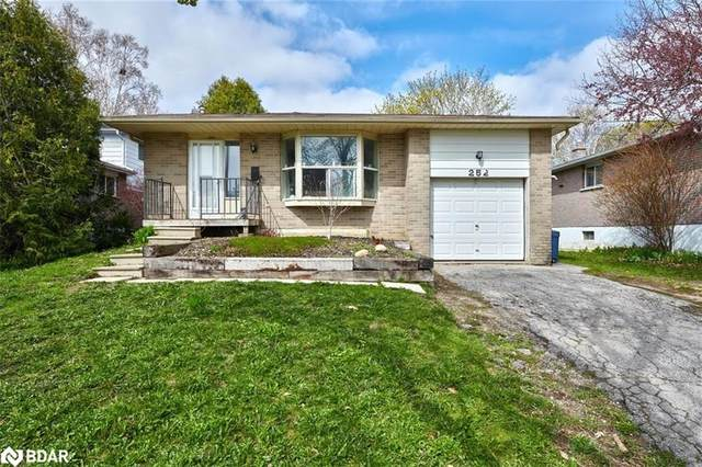 252 Cook Street, Barrie, ON L4M 4H6 (MLS #40102219) :: Forest Hill Real Estate Collingwood