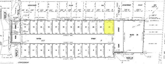 LOT 24 Totten Street, Embro, ON N0J 1J0 (MLS #40105128) :: Envelope Real Estate Brokerage Inc.