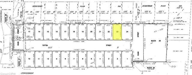 LOT 23 Totten Street, Embro, ON N0J 1J0 (MLS #40105132) :: Envelope Real Estate Brokerage Inc.