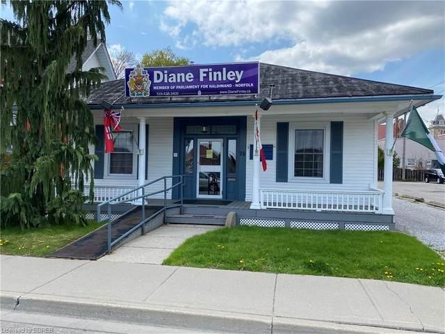76 Kent Street S, Simcoe, ON N3Y 2Y1 (MLS #40106184) :: Envelope Real Estate Brokerage Inc.