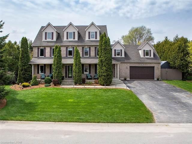 144 Salisbury Drive, Denfield, ON N0M 1P0 (MLS #40106981) :: Envelope Real Estate Brokerage Inc.