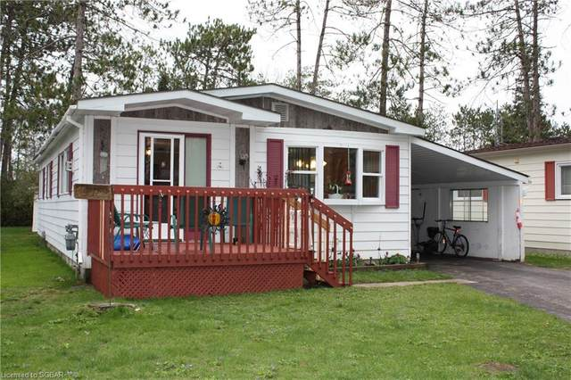14 Sinclair Street S, Wasaga Beach, ON L9Z 1K3 (MLS #40107650) :: Forest Hill Real Estate Collingwood