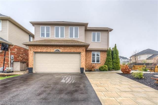 900 Woodbine Court, Kitchener, ON N2R 1X4 (MLS #40107907) :: Forest Hill Real Estate Collingwood