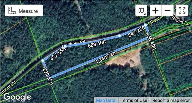 N/A Brethour Road, Bancroft, ON K0L 1C0 (MLS #40108457) :: Forest Hill Real Estate Collingwood