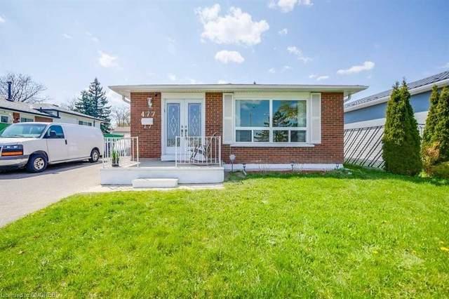477 Silverstone Drive, Toronto, ON M9V 3L2 (MLS #40109961) :: Envelope Real Estate Brokerage Inc.