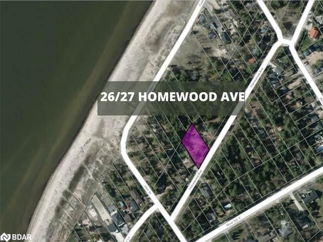 26 Homewood Avenue, Wasaga Beach, ON L9Z 2M2 (MLS #40110147) :: Envelope Real Estate Brokerage Inc.
