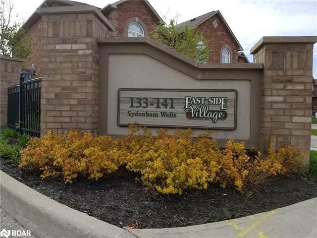 139 Sydenham Wells #1, Barrie, ON L4M 0H3 (MLS #40110759) :: Forest Hill Real Estate Inc Brokerage Barrie Innisfil Orillia