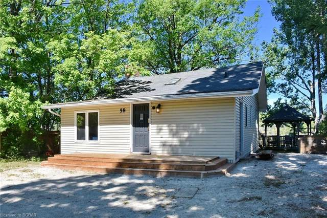 58 River Road E, Wasaga Beach, ON L9Z 2L1 (MLS #40114029) :: Forest Hill Real Estate Collingwood