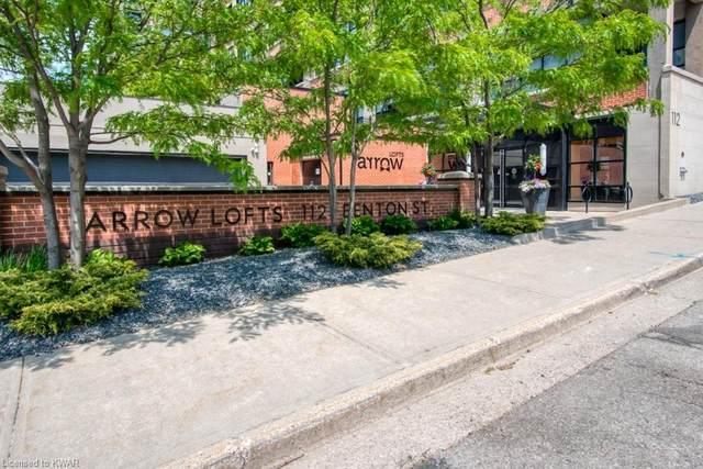 112 Benton Street #603, Kitchener, ON N2G 3H6 (MLS #40122765) :: Forest Hill Real Estate Collingwood