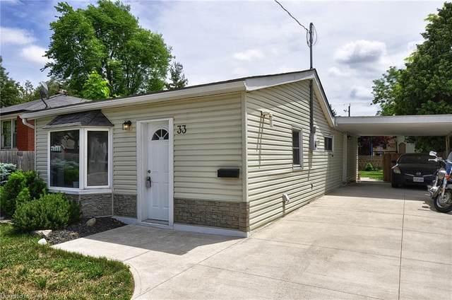 33 Lyndhurst Street, Brantford, ON N3S 4M6 (MLS #40125705) :: Forest Hill Real Estate Collingwood