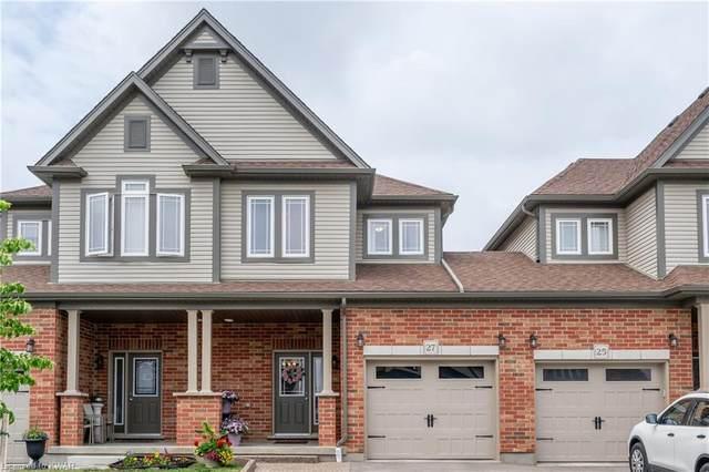 27 Crosswinds Drive, Kitchener, ON N2A 0J8 (MLS #40126128) :: Forest Hill Real Estate Collingwood