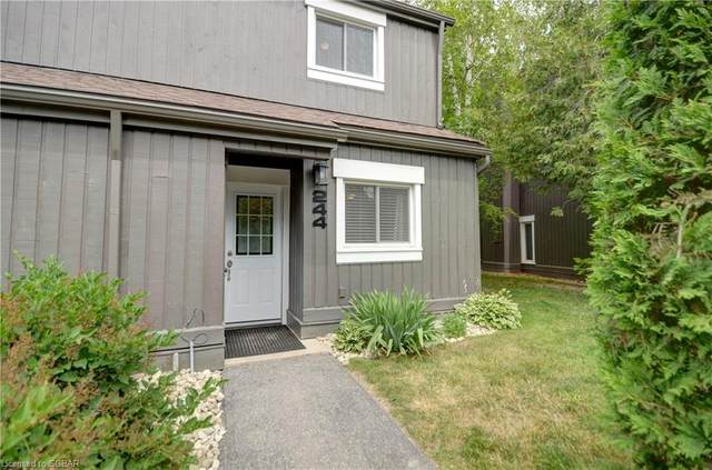 15 Harbour Street W #244, Collingwood, ON L9Y 5B4 (MLS #40131620) :: Forest Hill Real Estate Collingwood