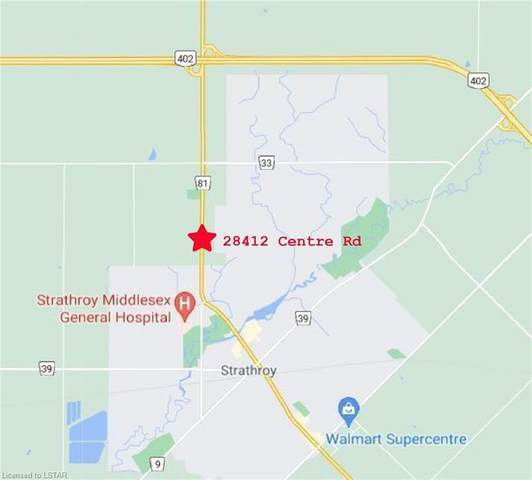 28412 Centre Road, Strathroy Caradoc (Munic), ON N7G 3H6 (MLS #40131974) :: Forest Hill Real Estate Collingwood