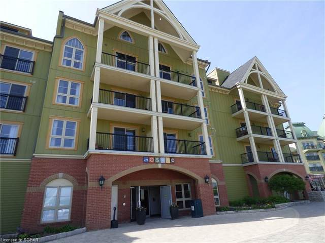 190 Jozo Weider Boulevard #203, The Blue Mountains, ON L9Y 0V2 (MLS #40132184) :: Forest Hill Real Estate Collingwood